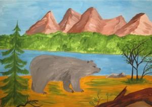 Серов Юрий. История серого медведя